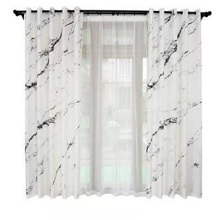 🆕 marble long curtain