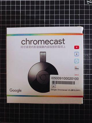 Google Chromecast V3 (WiFi) 黑色