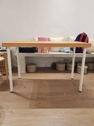 Light brown wooden surface table for sales!!!