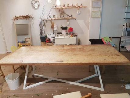 Heavyduty table (workshop table) for sales !!!