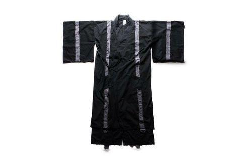Slightly Numb 長版日式拼接和服道袍潮外套罩衫