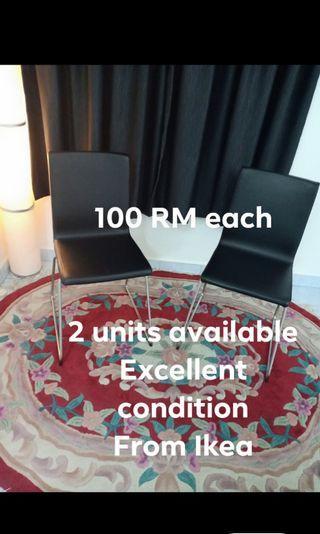 100 RM each Ikea volfgang chairs