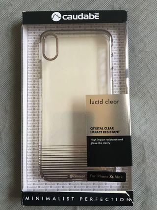 Caudabe Lucid Clear Gold for iPhone XS MAX