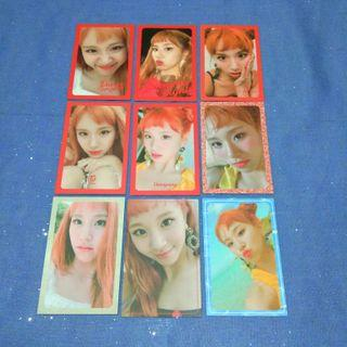 chaeyoung twice summer nights photocards