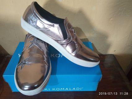 sepatu wanita Yongki Komaladi silver size 39 second