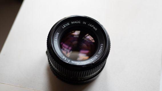 Canon FD 50mm f 1.4