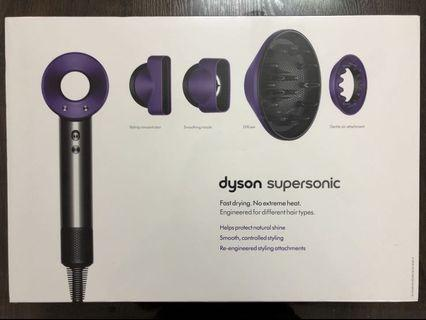 新一代 Dyson Supersonic™ 吹風機 (奢華紫)