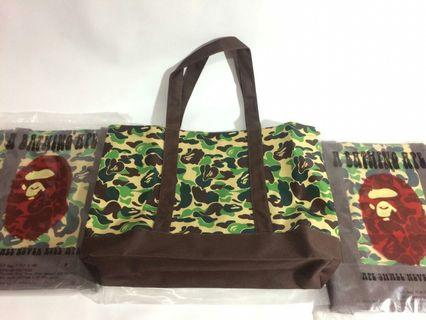 A BATHING CAMOUFLAGE TOTEBAG