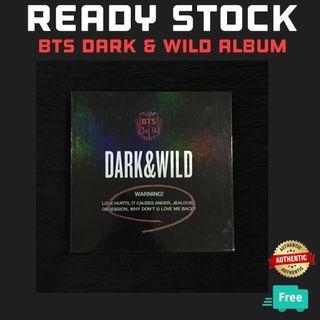 BTS DARK & WILD ALBUM NO PC
