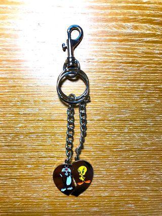 Tweety 崔弟與傻大貓最好的朋友鑰匙圈