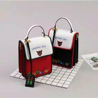 Cat Sling Bag / Tas Selempang