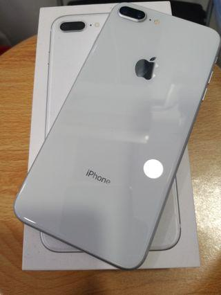 Iphone 8 plus Silver 64gb Used