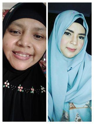 Make up atau rias wajah