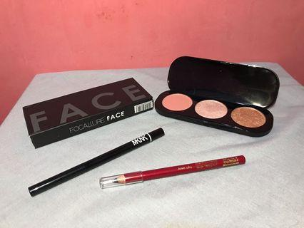Blush on 3 colors focallure