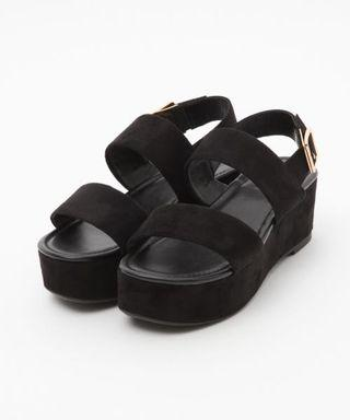 Lowrys Farm專櫃  日本厚底涼鞋 僅穿一次