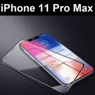 iPhone 11 / iPhone 11 Pro Max Full Cover Tempered Glass SP