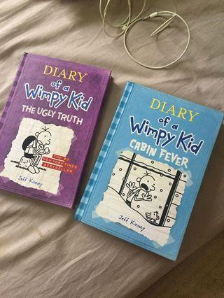 (For Charity) Diary Of A Wimpy Kid (Hard Cover)