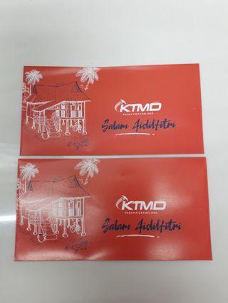 Angpao packet sampul duit raya KTM delivery