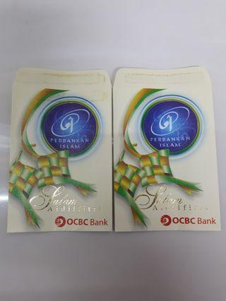 Angpao packet sampul duit raya OCBC bank