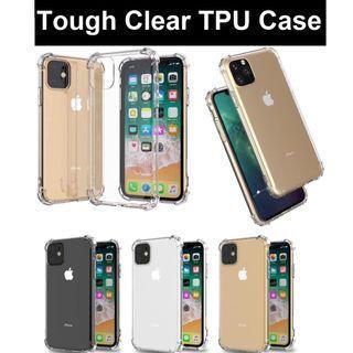 iPhone 11 / 11 Pro / 11 Pro Max Tough Transparent Clear Case