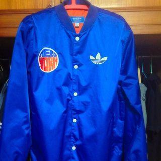 Adidas New York  外套 非常新 九成以上 已絕版 M號 藍色