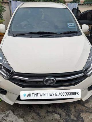 Full car tinted - Rm120 - Axia - myvi - city- accord--waja - saga -