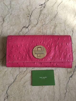 KATE SPADE Wallet pink twist wallet