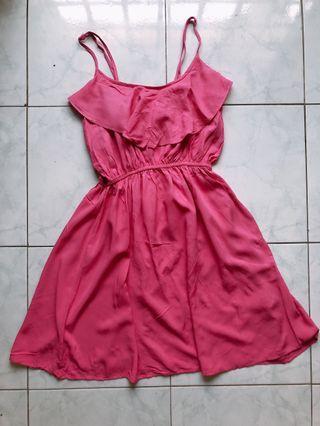 Pink dress - got some defect