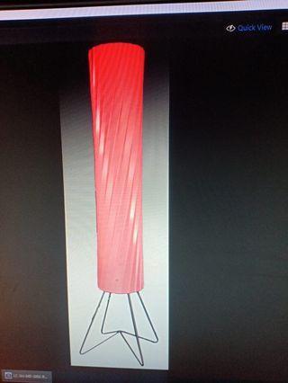 Lampu standing / floor lamp. Cuci Gudang
