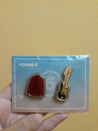Every DAY6 Concert in July Pin Badge Set : YoungK