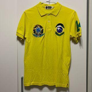 A Bathing Ape Brasil Polo Shirt BAPE 休閒 巴西 POLO衫