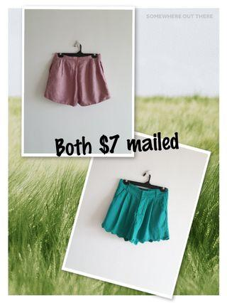 Pair of Ladies Shorts $7 mailed