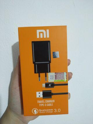 Charger Xiaomi Type C FAST CHARGING 100% ORI