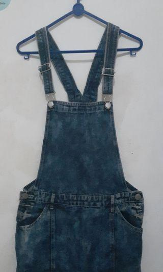 Overall Jeans skirt rok Cotton On