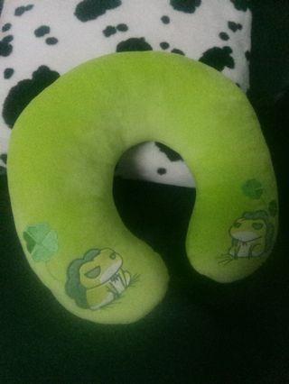 旅行蛙頸枕