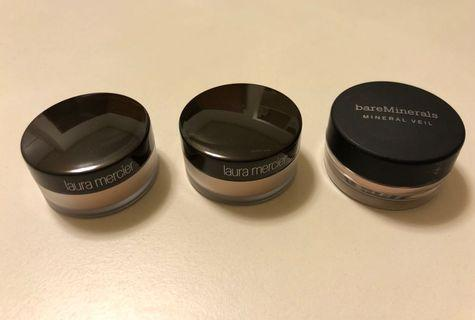 迷你蜜粉 Laura Mercier/bareMinerals