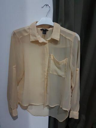 H&M see through shirt