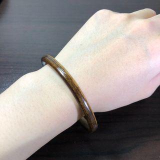 西藏雞血藤手鐲 AB面 7.0mm粗、18~19.5cm手圍。天然藤鐲 藥鐲