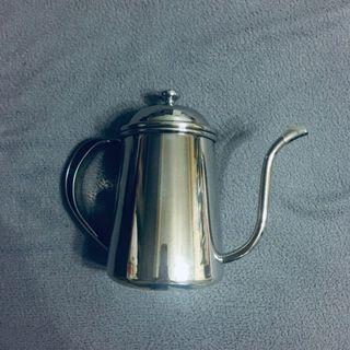 Tiamo 鏡面不鏽鋼細口壺 滴漏式咖啡壺