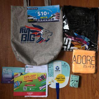 NUS BIG RUN 2019  Race T Shirt and Race Pack #winiphone11pro