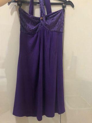 Purple Dress mini