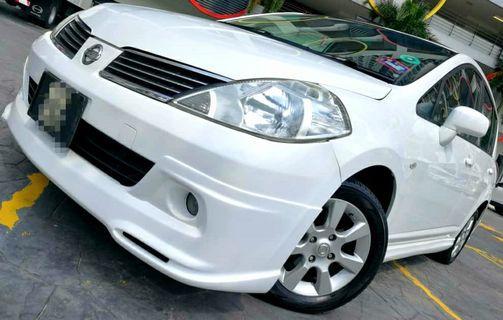 2008 Nissan LATIO SPORT 1.6 (A) dp 2990 LOAN KEDAI KERETA.