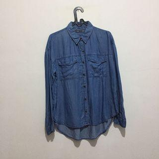 Forever 21 denim shirt (no nego)