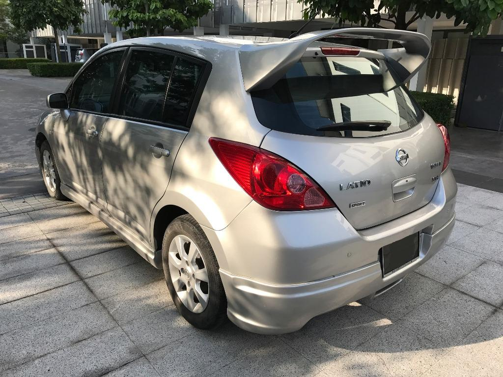 2007 Nissan Latio Sport Hatchback Impul Sportivo with Skirtings FullSpec