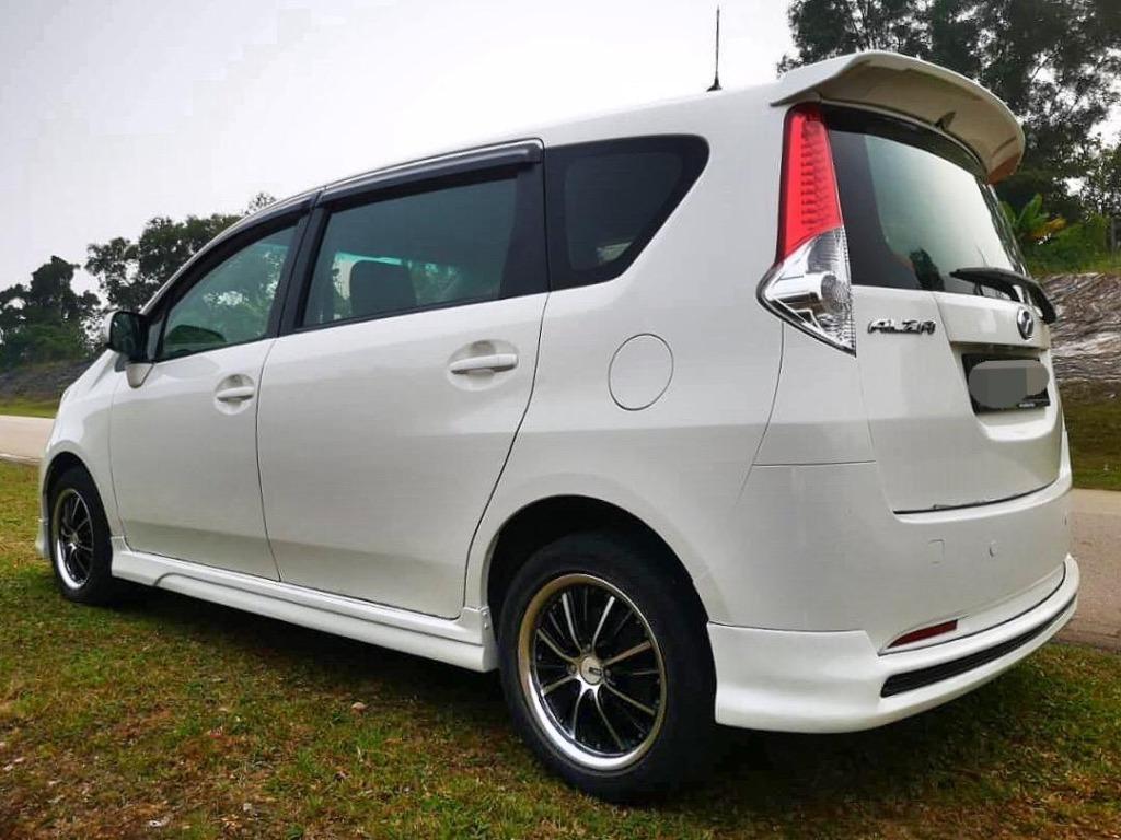 2011 Perodua ALZA 1.5 EZi B/L LOAN KEDAI DP 3K