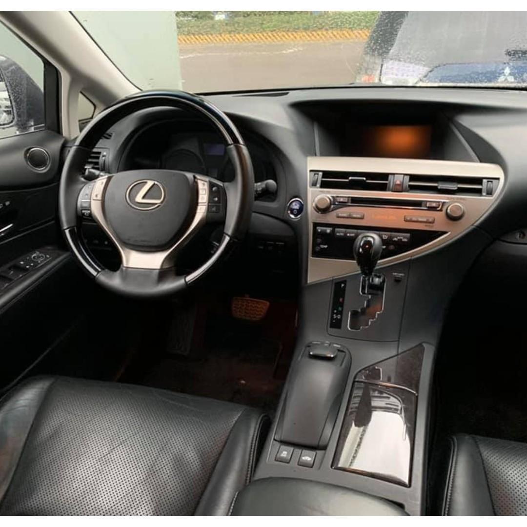 2012 RX450 H