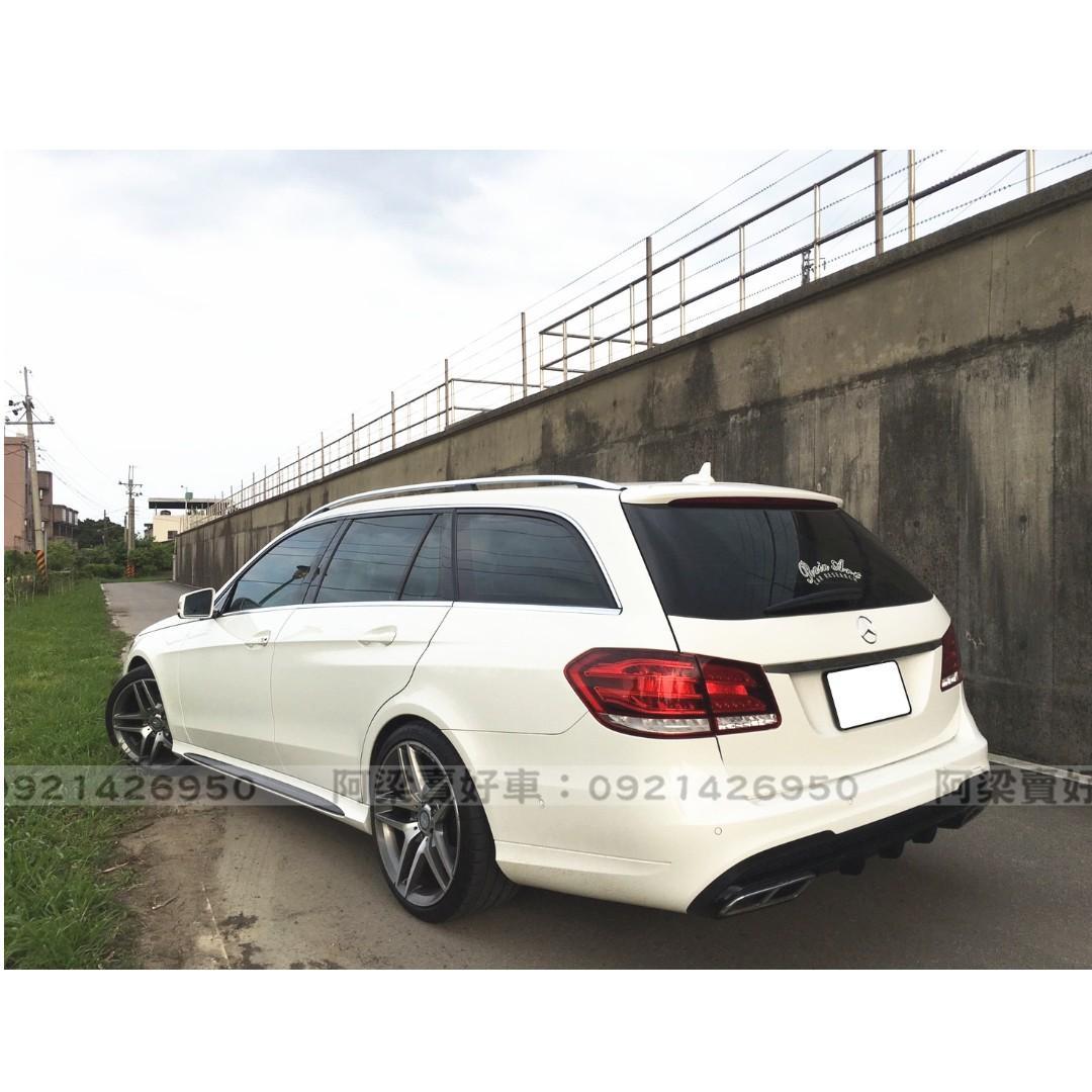 2014年- 賓士 - E200 (休旅版.AMG.天窗.盲點.電尾)『全額貸.低利率』買車不是夢想.歡迎加 LINE.電(店)洽