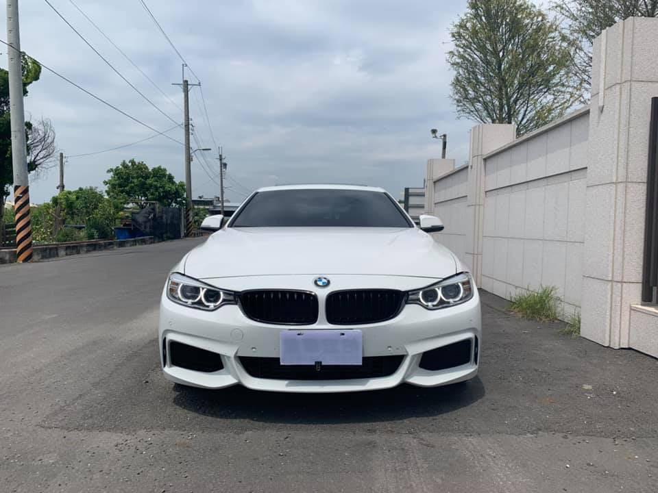 正2015 年 BMW 428i m sport