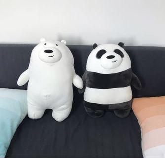 ❤️(INSTOCK) We Bare Bears Icebear Ice Bear Plushie Soft Toy