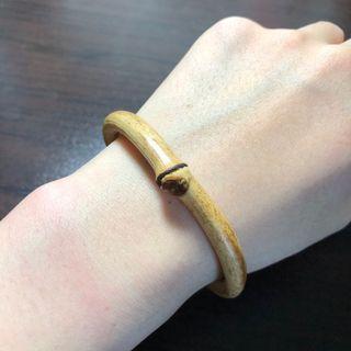 西藏雞血藤手鐲  正節加銀 6.3~7.3mm粗、15~16cm手圍。天然藤鐲 藥鐲